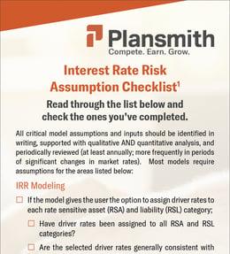 IRR Assumptions Screengrab